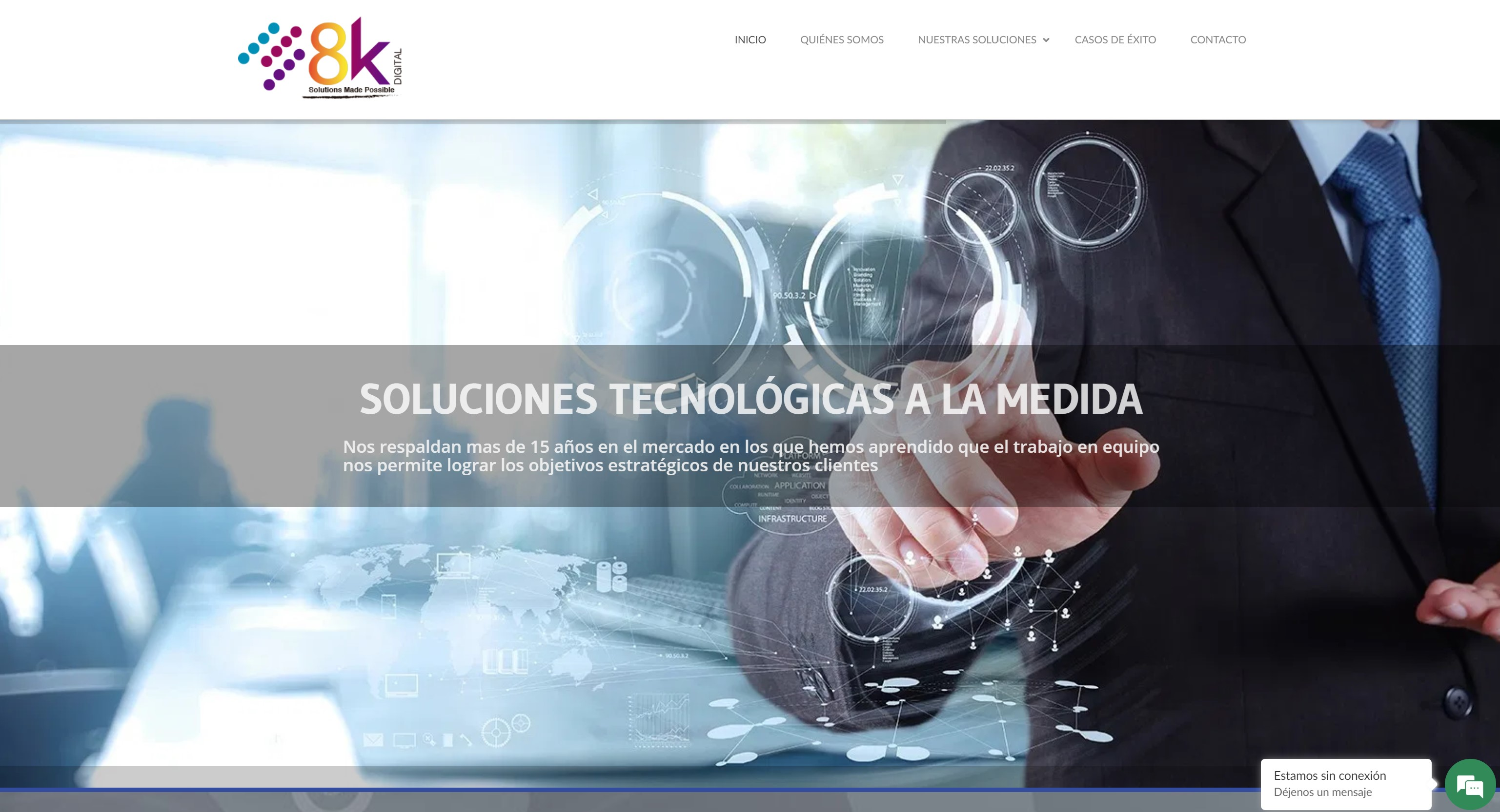 Sitio web 8K Digital