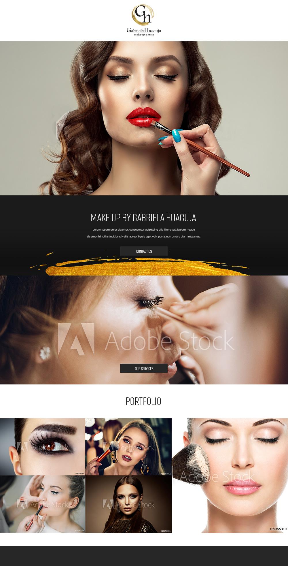 Sitio web Gabriela Huacuja